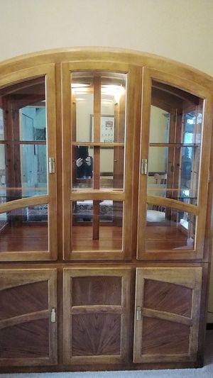 Oak China cabinet for Sale in Bonney Lake, WA