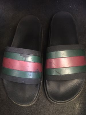 Gucci slides (rugged bottom) for Sale in Temecula, CA