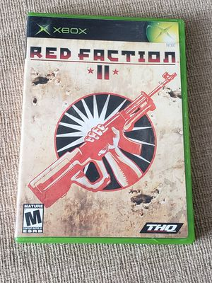 RED FACTION 2 for Original Microsoft Xbox System for Sale in Chambersburg, PA