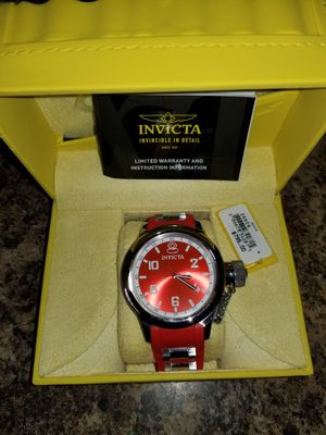 Brand new Invicta Red Russian Diver's Watch for Sale in Boulder, MT