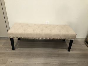 Tufted bench for Sale in Peoria, AZ