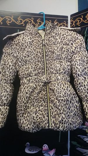 Girls Cheetah Print Coat for Sale in Washington, DC