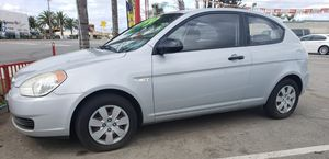2008 HYUNDAI ACCENT 103000 MILES SUPER CLEAN COUPE EXCELLENT ON GAS NEW TIRES NEW BRAKES NEW BATTERY CLEAN TITLE for Sale in Fontana, CA