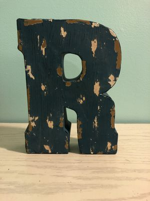 Wall Decor letter R for Sale in Goose Creek, SC