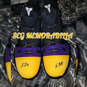 9f844c4cee5 Dual kyle kuzma autographed kobe ad shoes psa coa for Sale in Pico ...