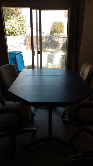 Dining table and chairs for Sale in West Linda, CA