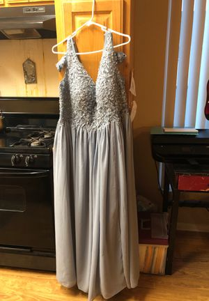 Dusty blue dress size 16 for Sale in Anaheim, CA