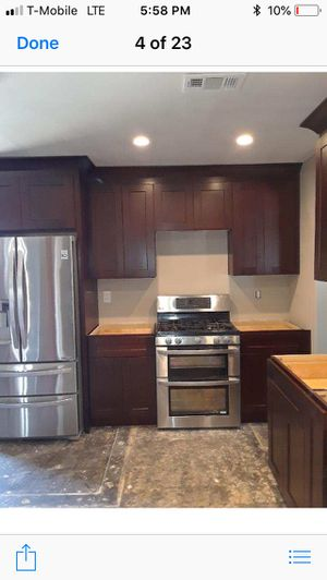 Kitchen cabinets quartz sinks for Sale in Spring Valley, CA