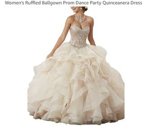 dress party Quinceanera ruffled prom dance for Sale in Miramar,  FL