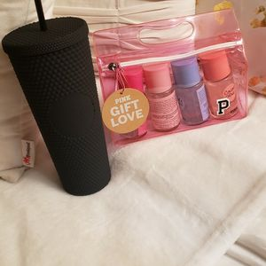 Starbucks Cup And Victoria Secret Body Spray Set for Sale in Rancho Cucamonga, CA
