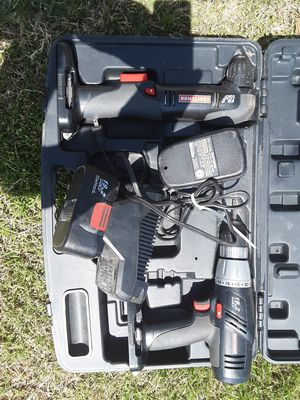 Craftsman drill and right angle screw driver set for Sale in Hampton, VA
