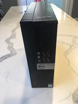 Dell Optiplex 9020 Computer small Form Business Desktop Tower PC (Intel Quad Core i7 4770, 4 Generation 16GB Ram, 500 gb HDD for Sale in Los Angeles, CA