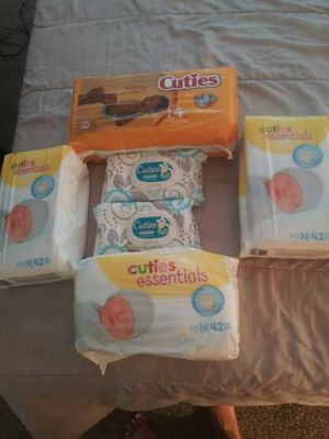 Diapers and wipes price is negotiable for Sale in Las Vegas, NV