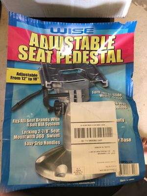 Brand new adjustable seat pedestal! for Sale in Clearwater, FL