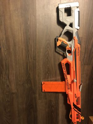 Nerf Raptorstrike accustrike gun for Sale in Cumberland, RI