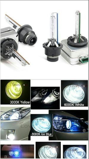 Hid replacement bulbs or ballasts for factory xenon headlight systems- direct replacement headlamp hid bulbs 4 mercedes infinti acura lexus Cadillac for Sale in Phoenix, AZ