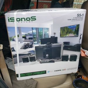 ISONOS BLOOTOOTH HOME THEATERS SYSTEM BRAND NEW NEVER OPENED for Sale in Philadelphia, PA
