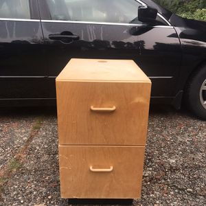 Wooden Cabinet for Sale in Renton, WA