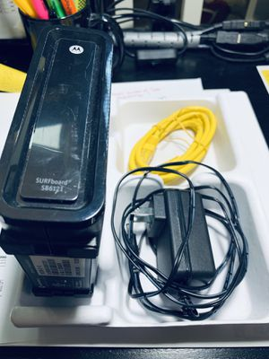Motorola Surfboard SB6121 Cable Modem for Cox -$20 for Sale in Las Vegas, NV