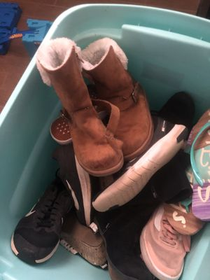 Boys and girls shoes for Sale in Edmond, OK