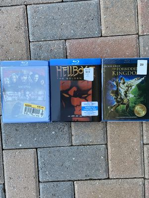 UNOPENED blu ray discs for Sale in Palm City, FL