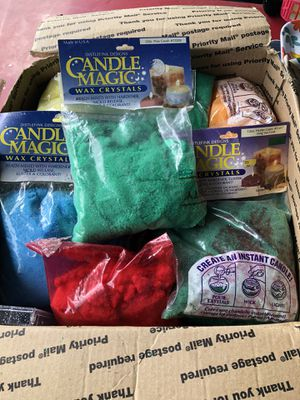 Distlefink Designs Candle Magic Wax Crystals several colors for Sale in Riverview, FL
