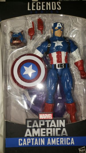 Marvel Legends Avengers Captain America Rocket Racoon for Sale in Chicago, IL