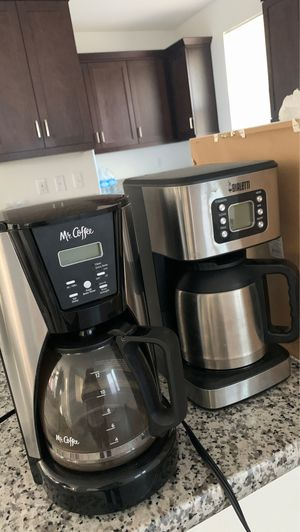 2 like new coffee makers for Sale in Wildomar, CA