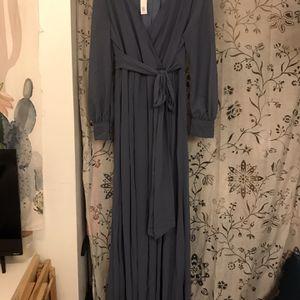 Slate Blue Floor Length Dress for Sale in Lemon Grove, CA