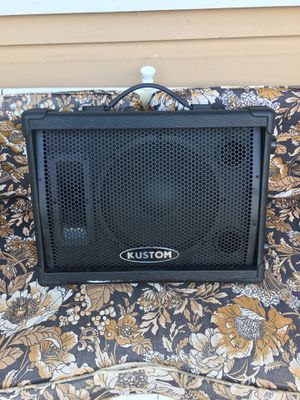 Used, Kustom PA 10'' monitor speaker Cabinet with Horn for Sale for sale  Stone Mountain, GA