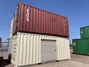 20' Shipping Container with Roll Up Door for Sale in Phoenix, AZ