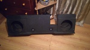 Subwoofer Box for two 10in. for Sale in Hamilton, MS