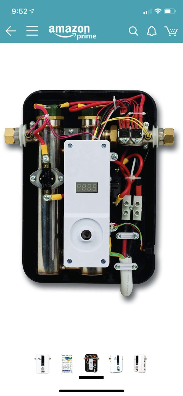 Eco Smart Tankless Water Heater - Model Eco 11