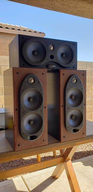 🇺🇸 SPEAKERS / POLK AUDIO (RT55I & CS400I)SURROUND SOUND / TIMBRE MATCHED CONSECUTIVE #'s SET 💲🅾️🅱️🅾️💲 for Sale in Maricopa, AZ