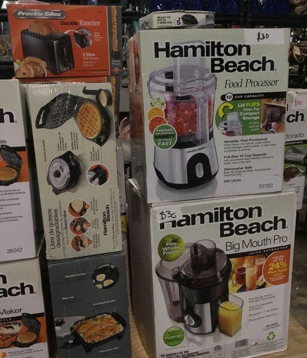 Hamilton beach kitchen appliances for sale! Hundreds of appliances for sale!
