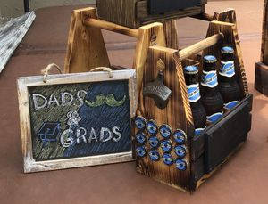 Beer Caddy, Bottle openers, Dads and Grads for Sale in Pleasant Hill, CA
