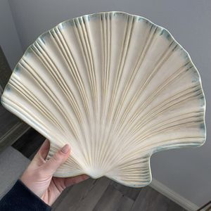 Large Vintage Seashell Dish for Sale in Newport Beach, CA