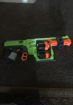 A zombie nerf gun dominator for Sale in Stockton, CA