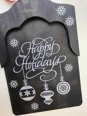 """Holiday wooden """"shovel"""" decoration for Sale in Darnestown, MD"""