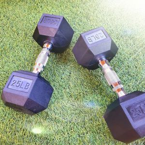Long Beach - BRAND NEW. 25lb dumbbells. 25lb weights. 25 lb for Sale in Long Beach, CA