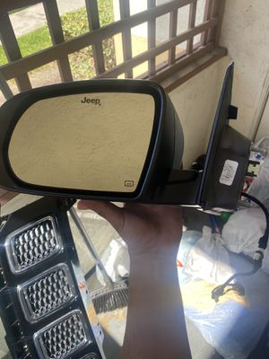 JEEP COMPASS 2018 steering wheel side rear view mirror for Sale in Chula Vista, CA