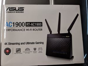 Asus AC1900 performance WiFi router BRAND NEW for Sale in Waukegan, IL