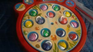 Brand, spin master,, gone fishing game kids ,enfants age 4 +up, catch a fish as the board rotates!. for Sale in Tampa, FL