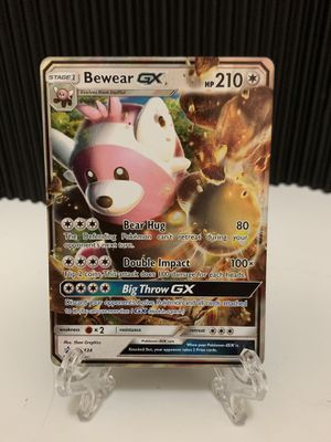 Pokémon Bewear GX Black Star Collection - Ultra Rare SM34 Pokemon NM/MT for Sale in San Diego, CA