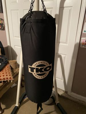 Boxing bag with stand for Sale in Duluth, GA