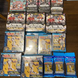 NFL,NBA,Collegiate Panini Trading Cards for Sale in Houston, TX