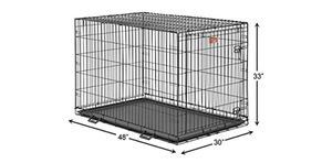 extra dog crave extra large single door folding up to 90 pounds for Sale in West Carson, CA