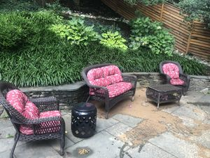 Patio furniture- with cushions for Sale in Washington, DC