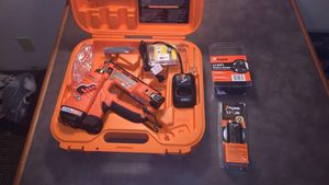 Paslode nail gun with extra battery and charger. BRAND NEW for Sale in Bakersfield, CA