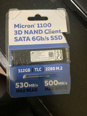 Micron m.2 512gb for Sale in Kenneth City, FL